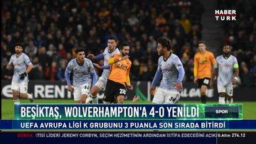 Beşiktaş, Wolverhampton'a 4-0 yenildi