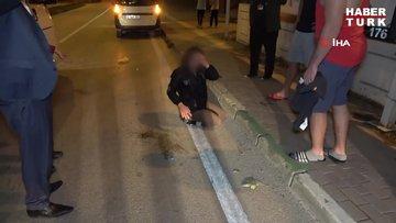 Otomobilden atıldığı iddia edilen genç kız sinir krizi geçirdi