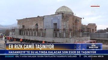 Er Rızk Camii taşınıyor