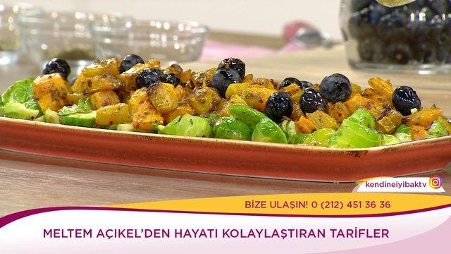 Bal Kabaklı, Brüksel Lahanası Salatası