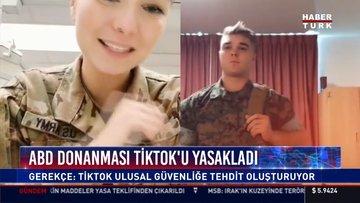 ABD donanması Tiktok'u yasakladı