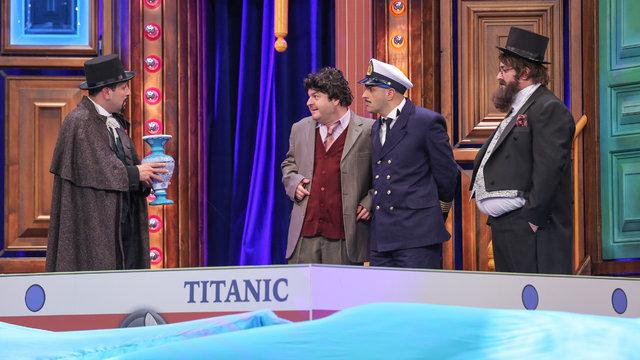 Kem gözlü Şevket Titanik'te!