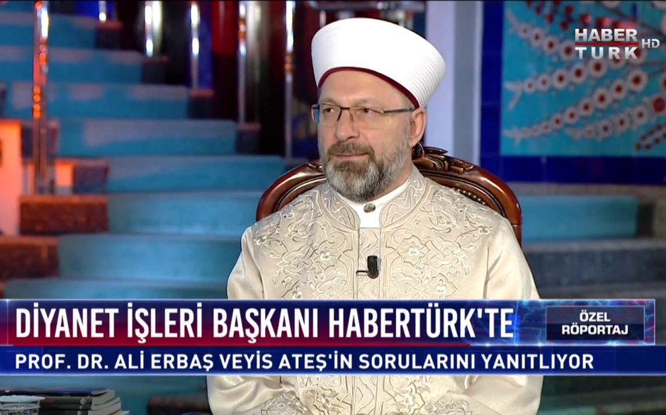Özel Röportaj - 27 Aralık 2019 (Diyanet İşleri Başkanı Prof. Dr. Ali Erbaş)