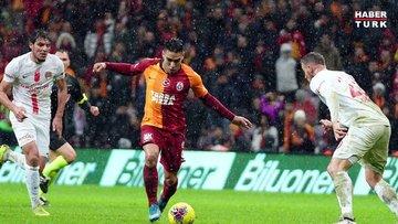 Galatasaray: 5 - Antalyaspor: 0   MAÇ SONUCU ve MAÇ ÖZETİ
