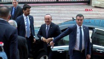 Çavuşoğlu tezkere konusunda CHP Genel Başkanı Kemal Kılıçdaroğlu'nu ziyaret ediyor