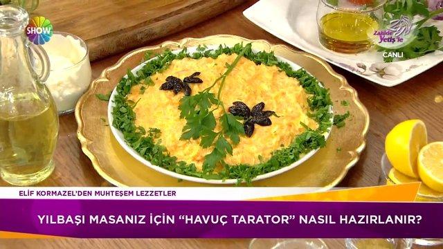 Havuç Tarator