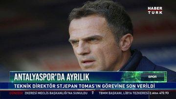 Antalyaspor'da Tomas dönemi sona erdi