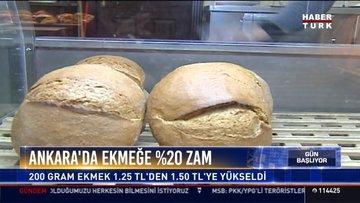Ankara'da ekmeğe %20 zam