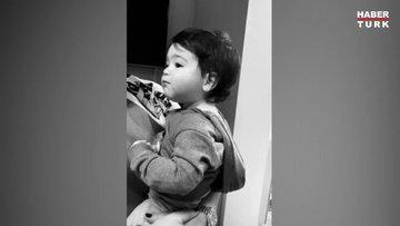 Arda Turan'ın oğlu Hamza'nın sevimli halleri