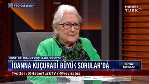 Büyük Sorular - 12 Ocak 2020 (Prof. Dr. İoanna Kuçuradi)