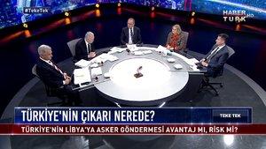 Teke Tek - 14 Ocak 2020 (Türkiye'nin Libya'da çıkarı ne?)