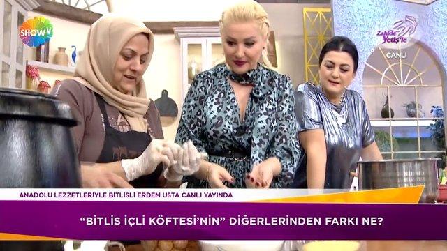Bitlis içli köftesi