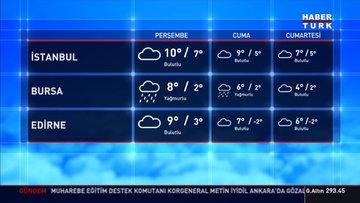 Meteoroloji'den Akdeniz'in sağanak uyarısı