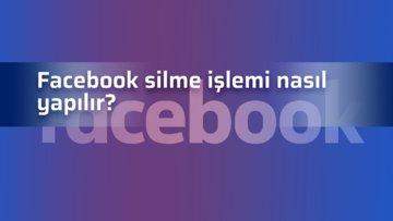 Facebook hesabı kalıcı olarak nasıl silinir? Facebook kalıcı hesap silme 2020