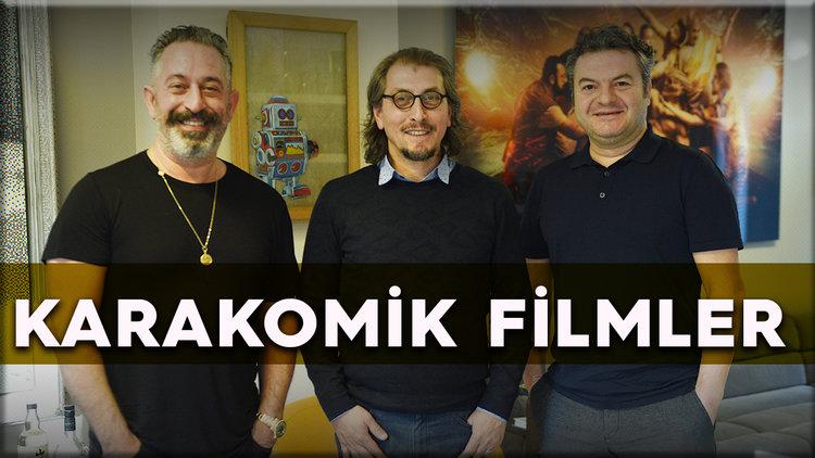 Cem Yılmaz ve Çağlar Çorumlu ile 'Karakomik Filmler 2' üzerine keyifli bir sohbet