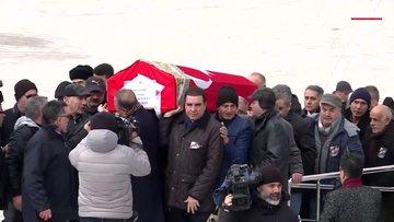 Rahşan Ecevitin cenazesi, Kocatepe Camisine getirildi