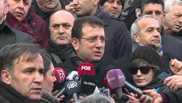 Ekrem İmamoğlu, basın mensuplarının sorularını yanıtladı