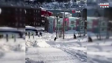 Kanada'da kar kalınlığı 2 metreyi aştı