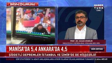 Manisa ve Ankara'da korkutan depremler!