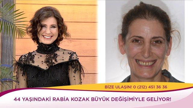 Rabia Hanım'ın tepeden tırnağa değişimi!