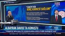Albayrak:Türkiye'nin borç karnesi çok sağlam