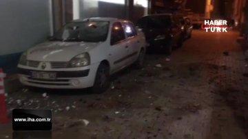 Elazığ'da 6,5 büyüklüğünde deprem! Deprem sonrası kamerada