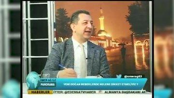 Şanlıurfa yerel televizyonunda Elazığ merkezli deprem anı