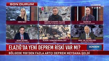 Para Gündem - 27 Ocak 2020 (Elazığ'da yeni deprem riski var mı?)