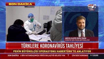 "Türklere ""Koronavirüs"" tahliyesi"