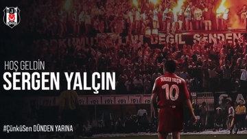 Sergen Yalçın, Beşiktaş'ta! Resmen açıklandı!