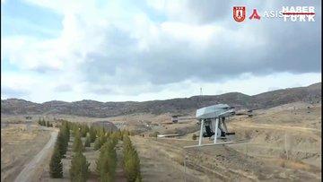 Türkiye'nin ilk milli silahlı drone sistemi Songar