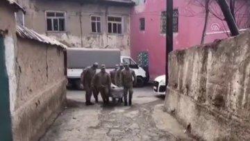 Jandarmadan engelli depremzedeye sürpriz