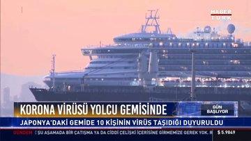 Koronavirüsü yolcu gemisinde