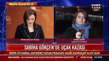 Sabiha Gökçen'de uçak pistten çıktı! 1 kişi hayatını kaybetti