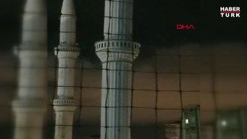 Kayseri'de fırtına duvar yıktı, çatıları uçurdu, minareleri salladı