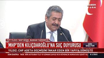 MHP'den kılıçdaroğlu'na suç duyurusu