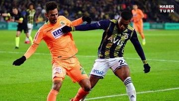 Fenerbahçe: 1 - Alanyaspor: 1   MAÇ SONUCU Tartışılan penaltı pozisyonu