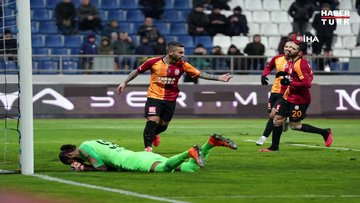 Kasımpaşa: 0 - Galatasaray: 3 | MAÇ SONUCU