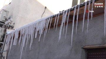 Ardahan'da Sibirya soğukları...