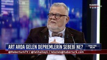 Teke Tek Bilim - 9 Şubat 2020 (Türkiye'de hangi fay hatları aktif?)