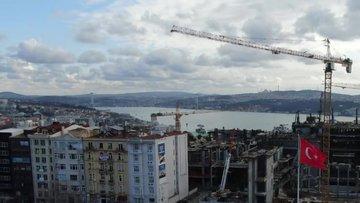 Yeni Atatürk Kültür Merkezi Taksim'de yükselmeye başladı