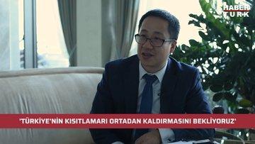 Çin İstanbul Başkonsolosluğu Ticaret Konsolosu Huang Songfeng: Türkiye'nin kısıtlamaları ortadan kaldırmasını bekliyoruz
