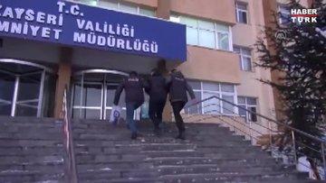 Kayseri'de PKK/YPG operasyonunda 2 şüpheli yakalandı