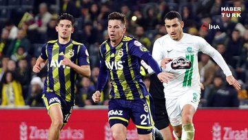 Fenerbahçe: 1 - Kırklarelispor: 0 | MAÇ SONUCU