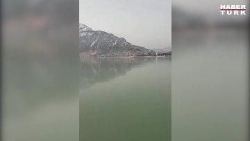 Eğirdir Gölü'nde buzlu deneyim
