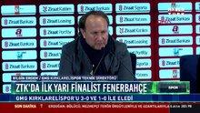 ZTK'da ilk yarı finalist Fenerbahçe