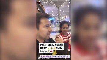 Endonezyalı yıldızdan Türk polisine teşekkür! 37 milyon takipçisiyle paylaştı
