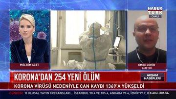Korona'dan 254 yeni ölüm