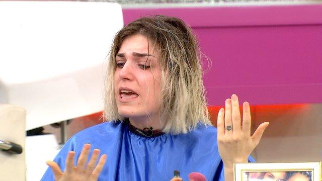 Taner'in modeli gözyaşlarını tutamadı!