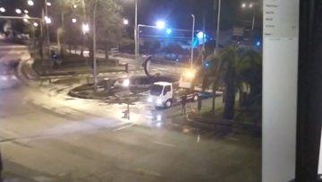 Çevreye rastgele ateş açtı, polisi yaraladı